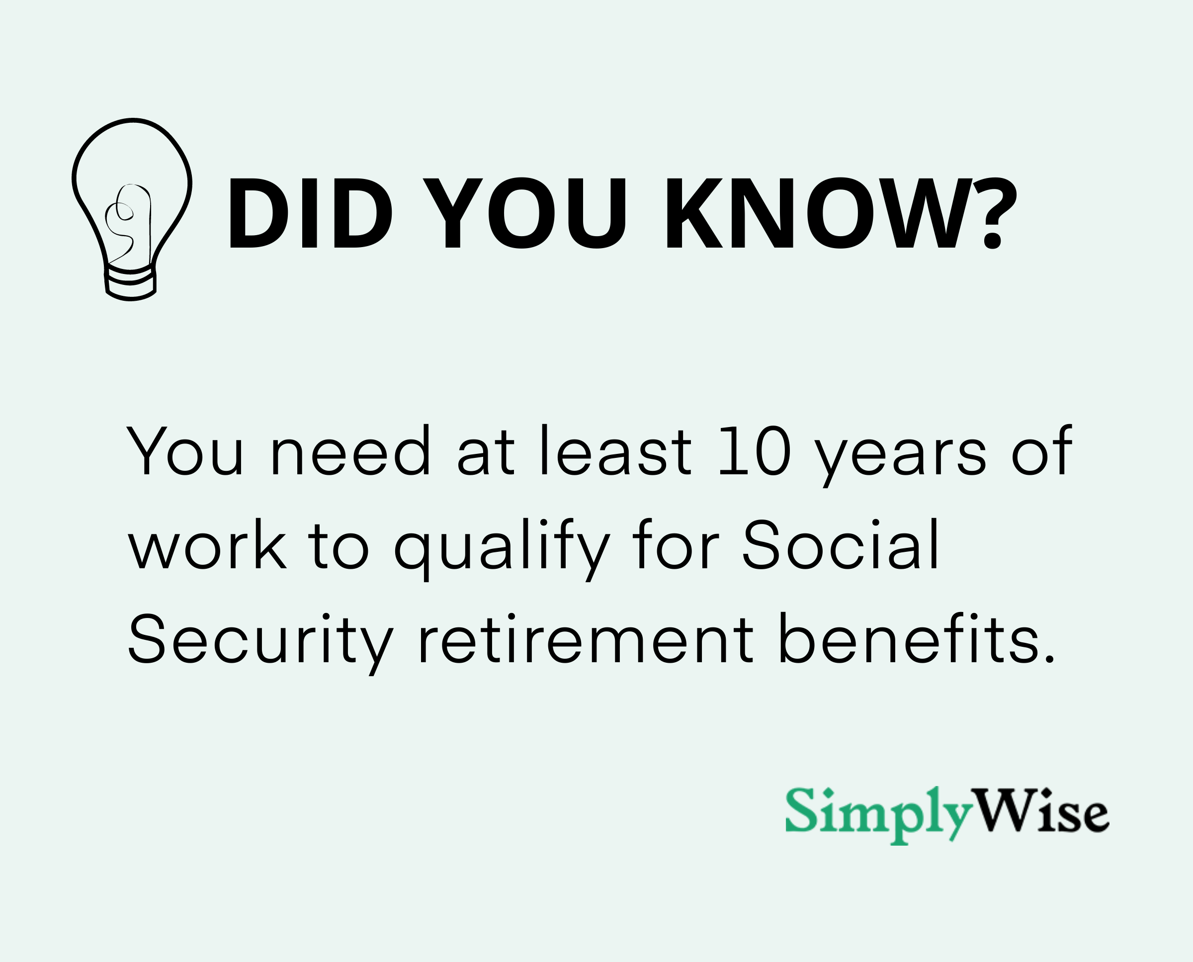how to qualify for retirement benefits
