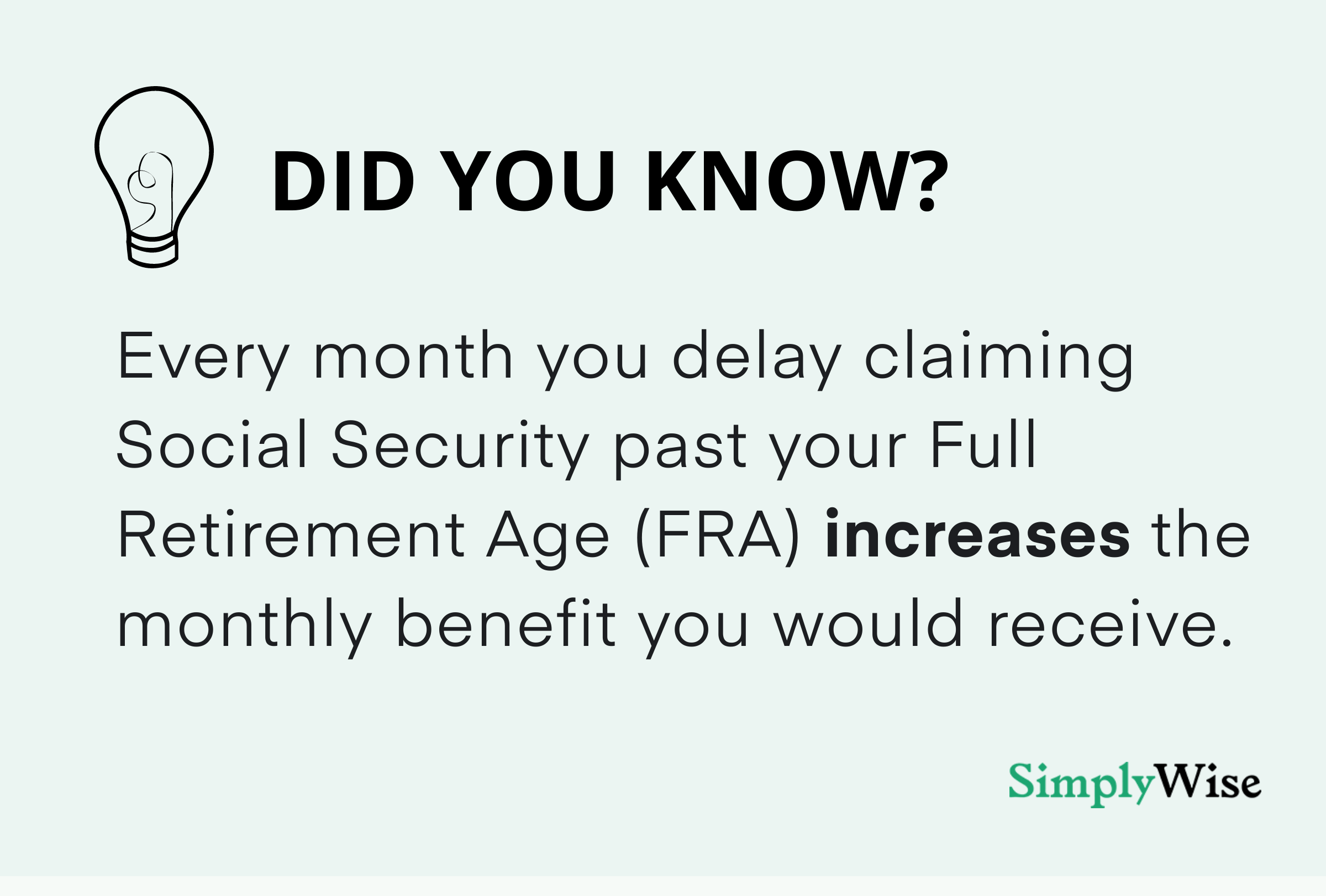 what are delayed retirement credits