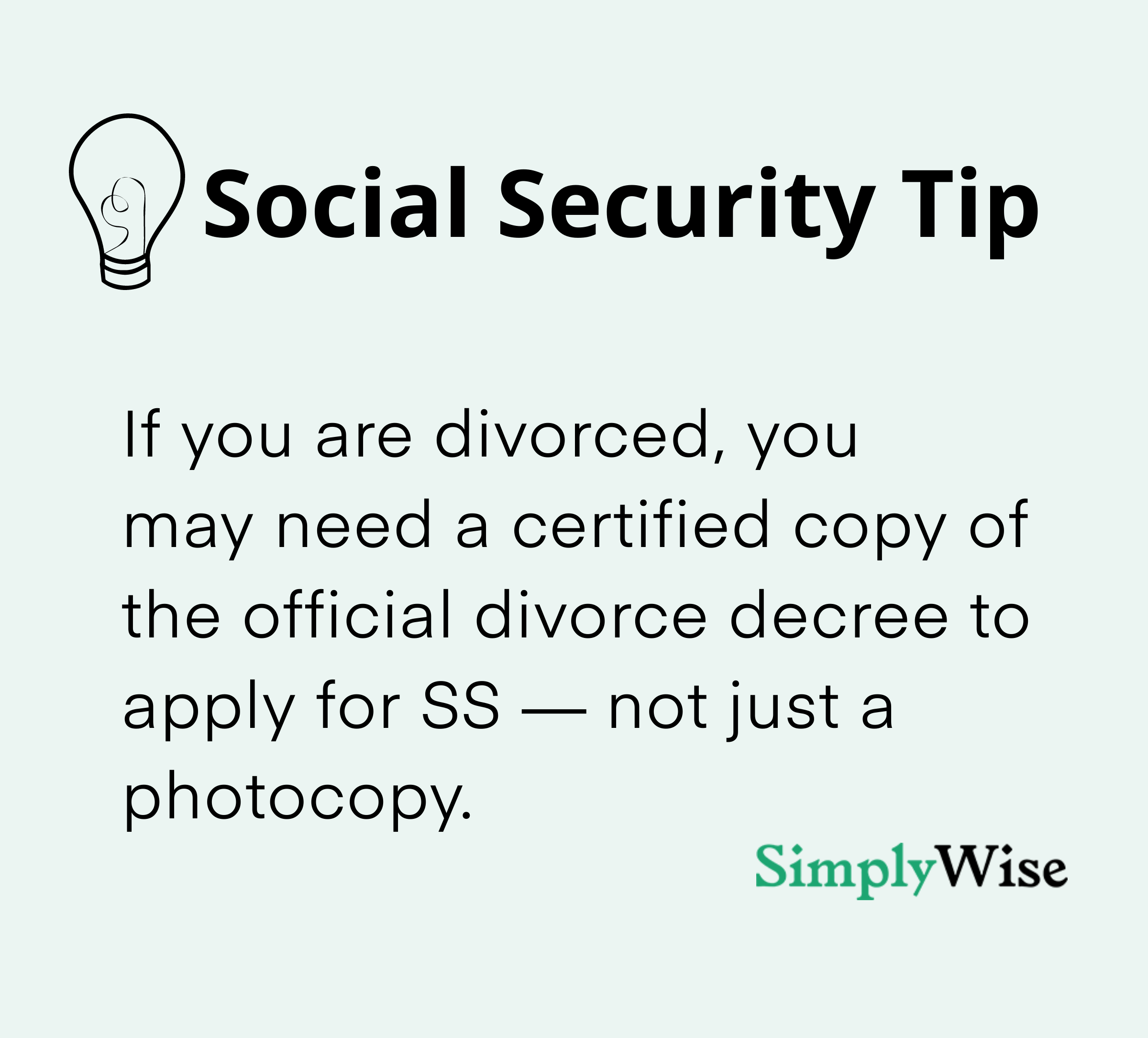 social security check from a divorced spousal benefits strategy 0–10
