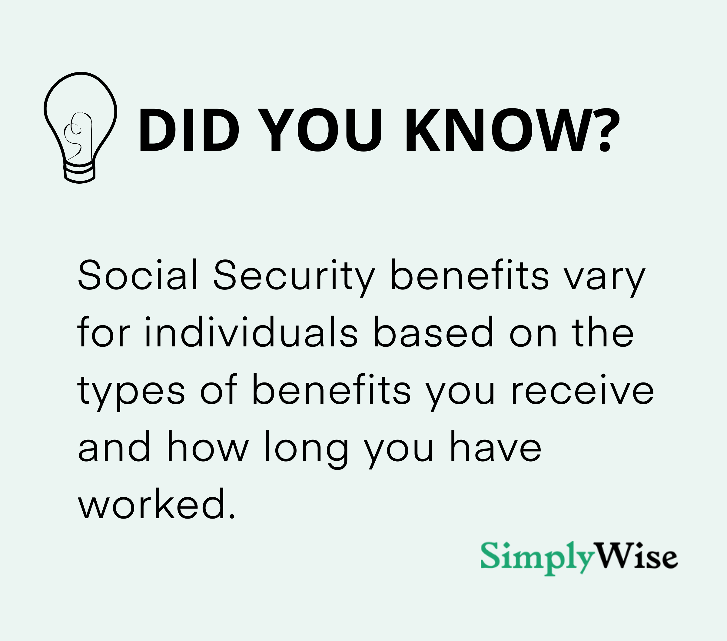 ss benefits depend on how long you work