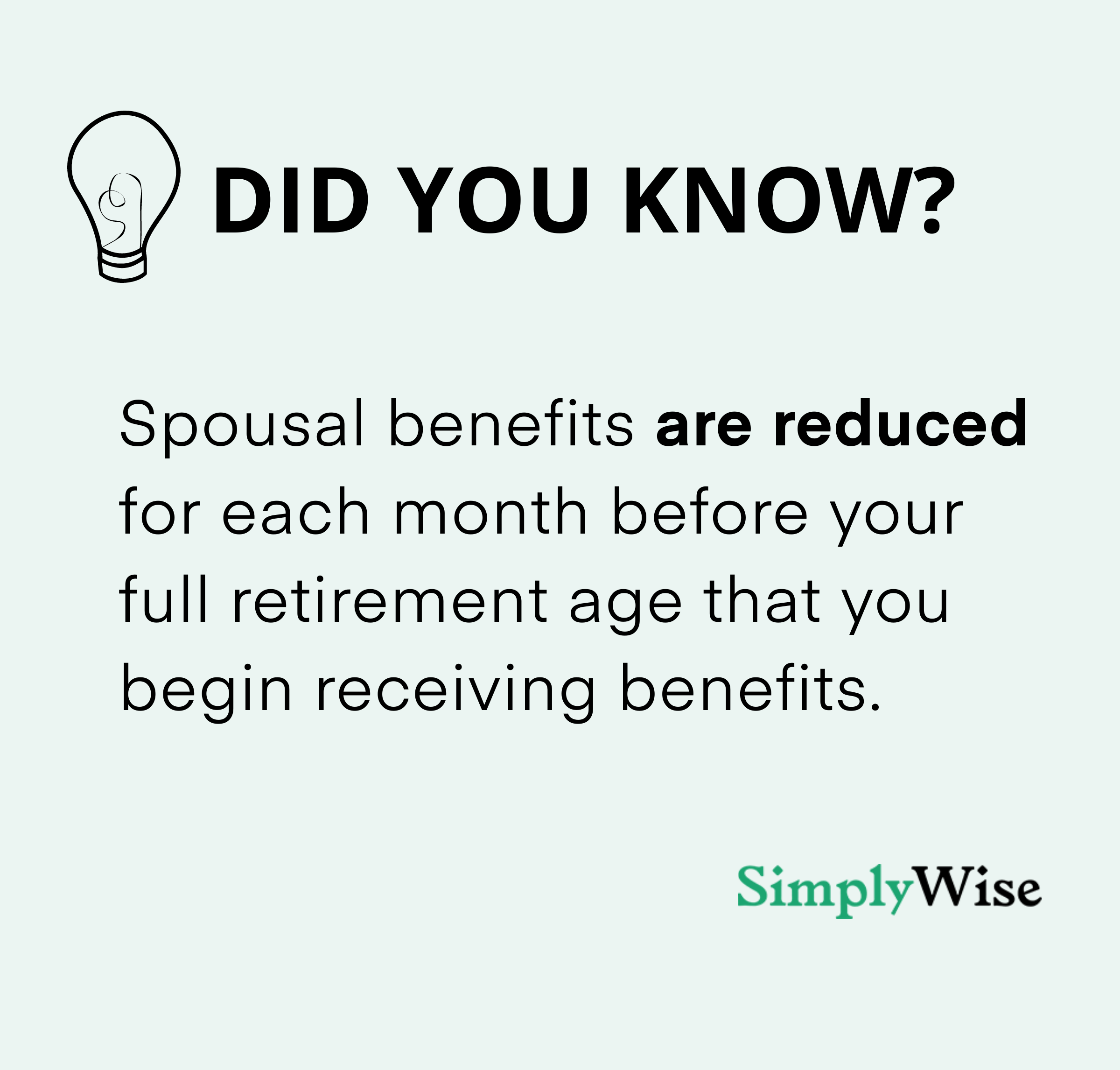 social security and spousal benefits