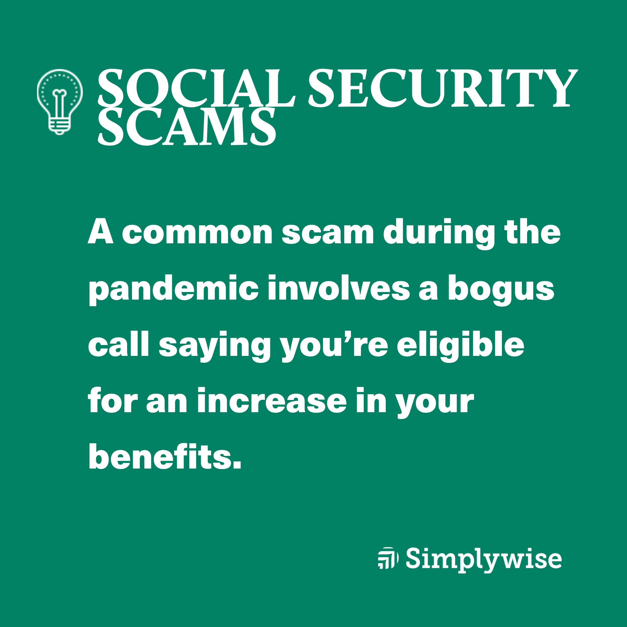 social security fraud scam