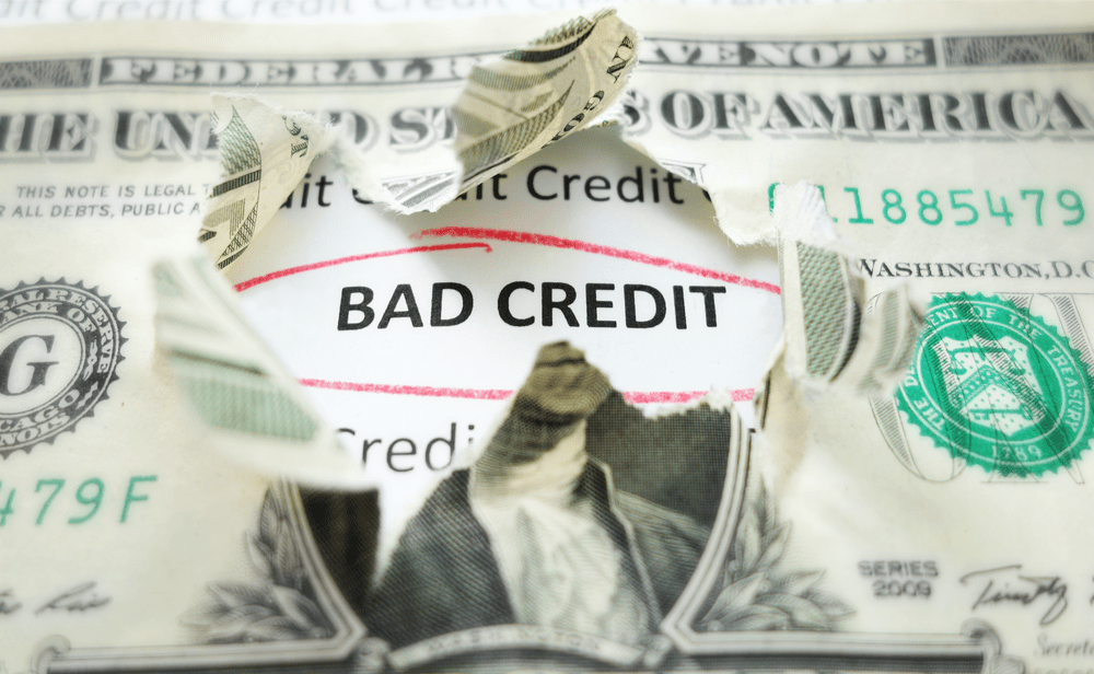 bad credit in retirement